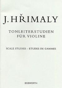 Johann Hrimaly: Tonleiterstudien Für Violine