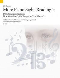 Kember, J: More Piano Sight-Reading 3 Vol. 3