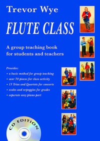 Flute Class (Book and 2 CDs)
