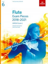 ABRSM: Flute Exam Pieces 2018-2021, ABRSM Grade 6
