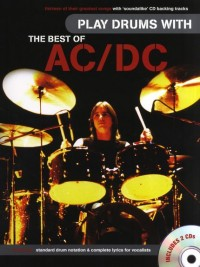 Play Drums With... The Best Of AC/DC (Book/Audio Download)