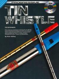 Progressive Tin Whistle for Beginners Book & CD