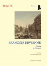 Devienne, F: Sonata in C minor
