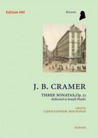 Cramer, J B: Three Sonatas Op 22