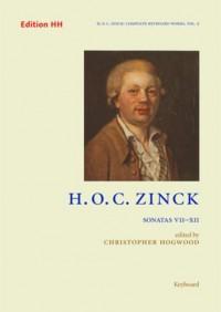 Zinck, H O C: Sonatas 7-12