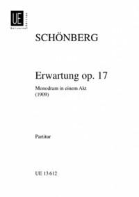 Schoenberg, A: Erwartung Op.17 Miniature Score