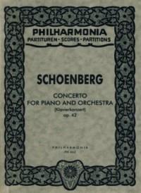 Schoenberg, A: Concerto op. 42