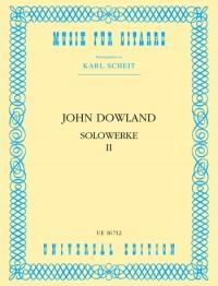 Dowland, J: Dowland Solowerke II Gtr