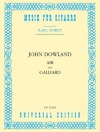 Dowland, J: Air and Galliard