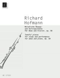 Hofmann, R: Hofmann Tuneful Pieces Ob Pft Op. 58