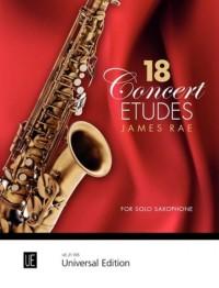 Rae, J: 18 Concert Etudes