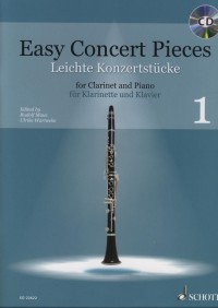 Easy Concert Pieces for clarinet and piano, Volume 1