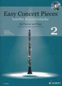 Easy Concert Pieces for clarinet and piano, Volume 2