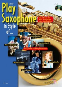 Heine, H: Play Saxophone in Style of ...