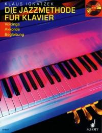 Ignatzek, K: Die Jazzmethode für Klavier Band 1