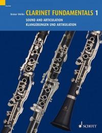 Wehle, R: Clarinet Fundamentals Vol. 1