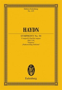 Haydn, J: Symphony No. 94 G major, Surprise Hob. I: 94
