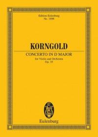 Korngold: Concerto in D major op. 35