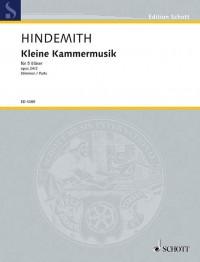Hindemith, P: Kleine Kammermusik op. 24/2