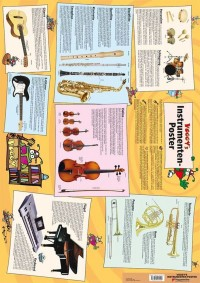 Martina Holtz: Poster Voggy's Instrumente