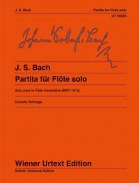 Bach, J S: Partita A minor for flute solo BWV 1013