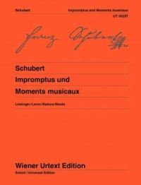 Schubert, F: Impromptus and Moments Musicaux