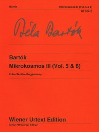 Bartok, B: Mikrokosmos Band 3 (Vol. 5 & 6)