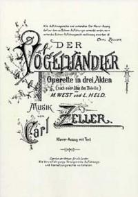 Carl Zeller: Der Vogelhändler (Vocal Score)