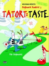 """Wolfgang Wierzyk: Keyboard Konkret 3 """"Tatort: Taste"""""""