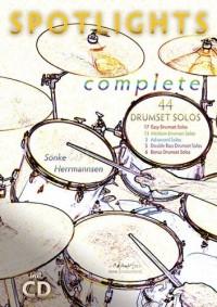 Sönke Herrmannsen: Spotlights Complete - 44 Drumset Solos