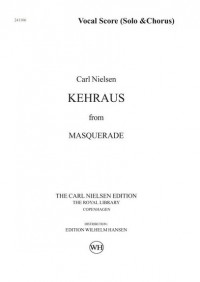 Carl Nielsen: Kehraus From Masquerade (Vocal Score)
