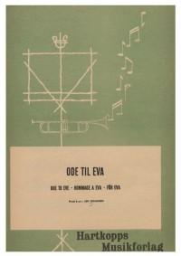 Leif Johansen: Ode Til Eva