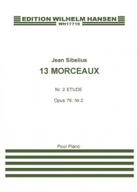 Jean Sibelius: 13 Pieces Op.76 No.2- Etude