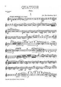 Johan Hye-Knudsen: Quartet Op.3
