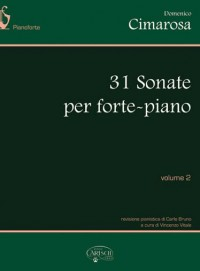 Domenico Cimarosa: 31 Sonate per Forte-Piano, Volume 2