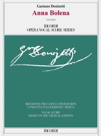 Donizetti: Anna Bolena (Vocal Score)