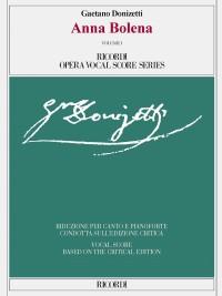 Donizetti: Anna Bolena (Vocal Score)