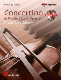 Janschinow: Concertino in Russian Style