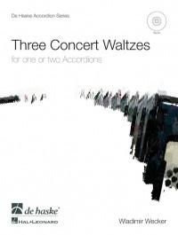 Wladimir Wecker: Three Concert Waltzes