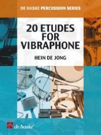Hein de Jong: 20 Etudes for Vibraphone