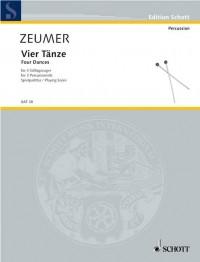 Zeumer, G: 4 Dances