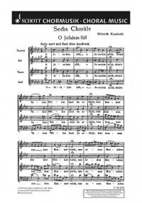 Kaminski, H: Sechs Choräle