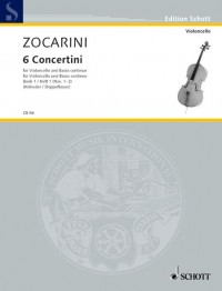 Zocarini, M: 6 Concertini Band 1