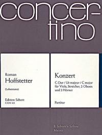 Hofstetter, R: Concerto C Major