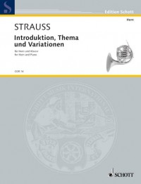 Strauss, R: Introduction, Theme and Variations o. Op. AV. 52
