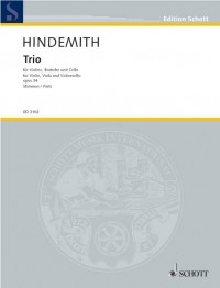 Hindemith, P: Trio op. 34