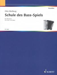 Weilburg, O: Schule des Bass-Spiels Band 1