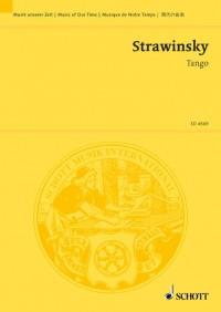 Stravinsky, I: Tango