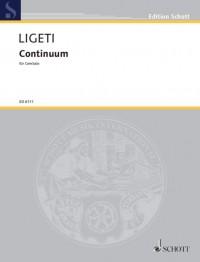 Ligeti, G: Continuum