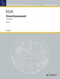 Egk, W: Divertissement
